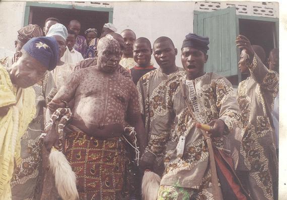 Araba Agbaye and Babalawo Owolabi Aworeni